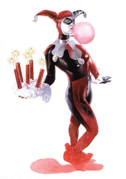Aug 17, 2007 © Art Gary Carbon, Character DC Comics, Inc. Harley Quinn