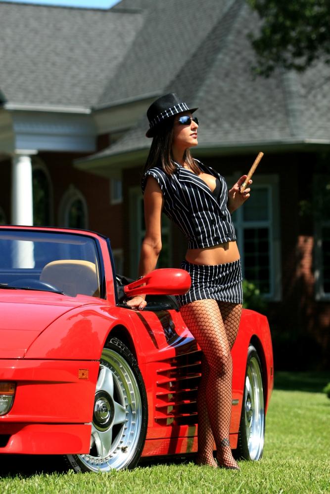Female model photo shoot of Kanna Lynn
