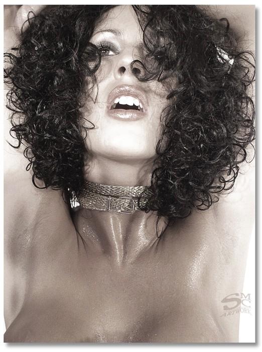 Female model photo shoot of Poca  in SMC Studio