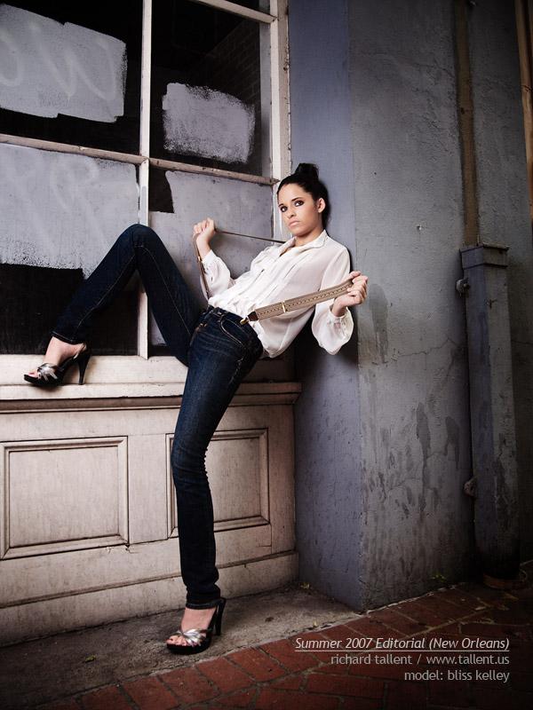 Female model photo shoot of Bliss Kelley in new orleans