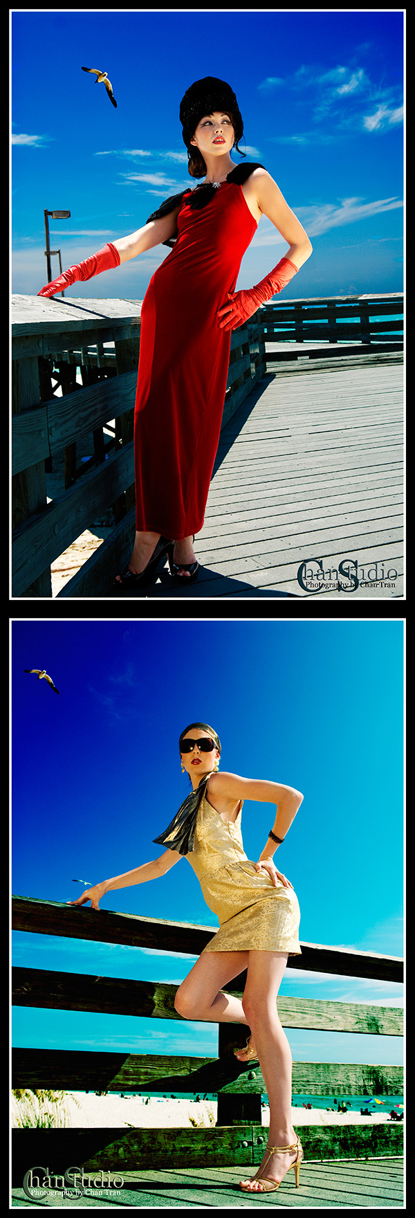 Panama City Beach, FL Aug 21, 2007 ChanStudio Retro Fashion