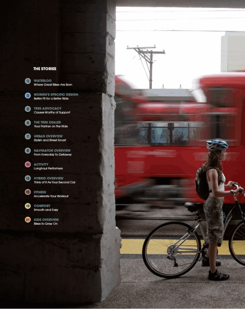 San Diego, CA Aug 21, 2007 John Laptad 2007 TREK Bike Lifestyle Catalog
