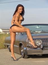 Cars And Bikini Models