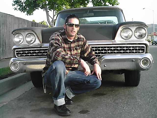 Lompoc, Ca Aug 22, 2007 In front of my 59 Ranchero