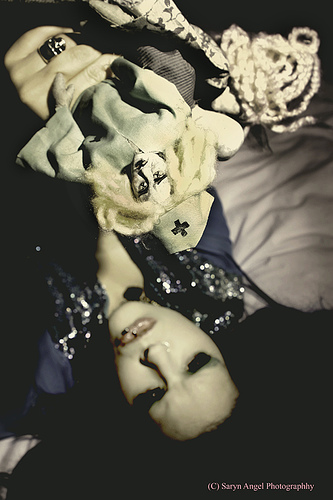 Anaheim,Ca Aug 22, 2007 2007 Saryn Angel and Ugly Shyla Me and my dolls