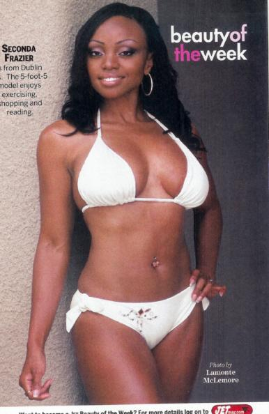 Aug 23, 2007 Jet Magazine Tearsheet for Beauty of the Week