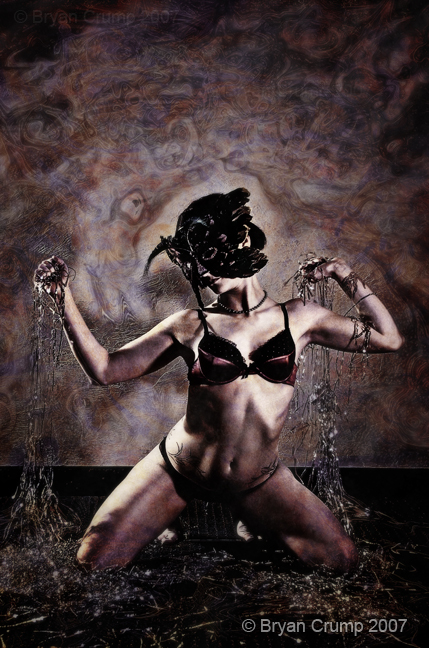 Oklahoma City, OK Aug 23, 2007 © Bryan Crump 2007 Masked Goddess of Chaos