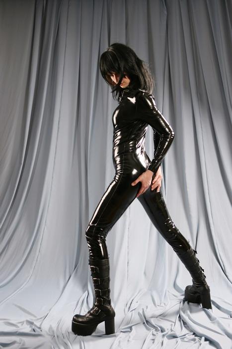 Female model photo shoot of Christine Davydova in Moscow