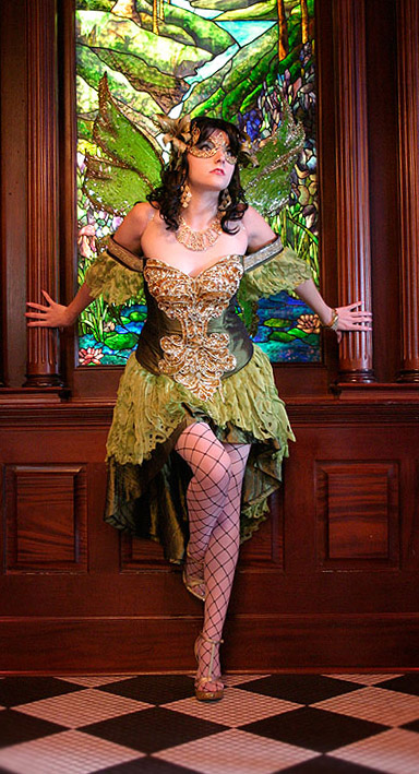 Dallas, Texas Aug 27, 2007 Mary Elam Absinthe Fairy - Costume/Make-up by myself