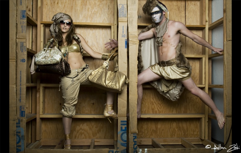 Female and Male model photo shoot of Daniela Richardson, Ariana Fronti and mrasch724 by ZAKI Photographer in Los Angeles, wardrobe styled by Pegah Sasani, makeup by Kat with KittyCosmetics