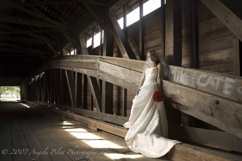 Wyomissing, PA Aug 29, 2007 Angela Pilat Photography.com Covered Bridge