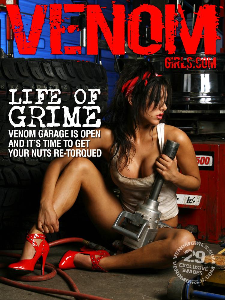 Aug 31, 2007 Venom Visual Photography Venom Model Noelle Cole