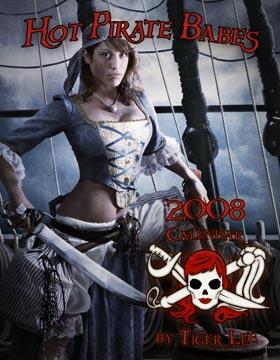 San Diego Aug 31, 2007 2007©TigerLeePhotos.Com Cover of the 2008 Hot Pirate Babe Calendar - Shana