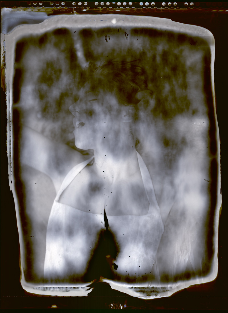 Rhode Island Sep 01, 2007 2007 Jeffrey Carl Engel Gina (Polaroid Type 55 meets saltwater!)