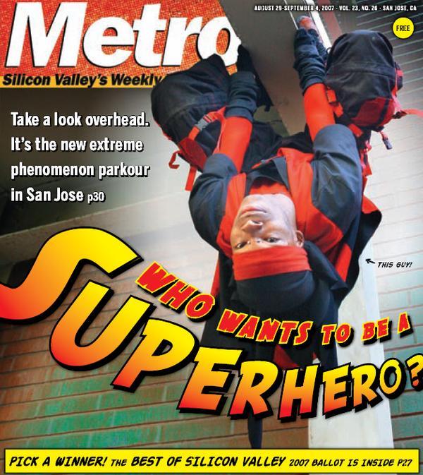 San Jose, CA Sep 02, 2007 Felipe Buitrago Metro Ryoga