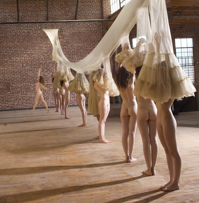 Wild girls dancing topless
