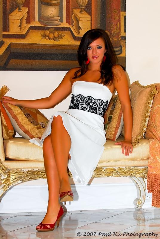 Female model photo shoot of Brittany Leonard in Sanford Estate