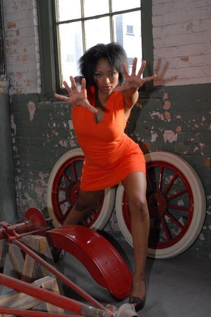 Female model photo shoot of Xena Childs in Ford Model T Plex