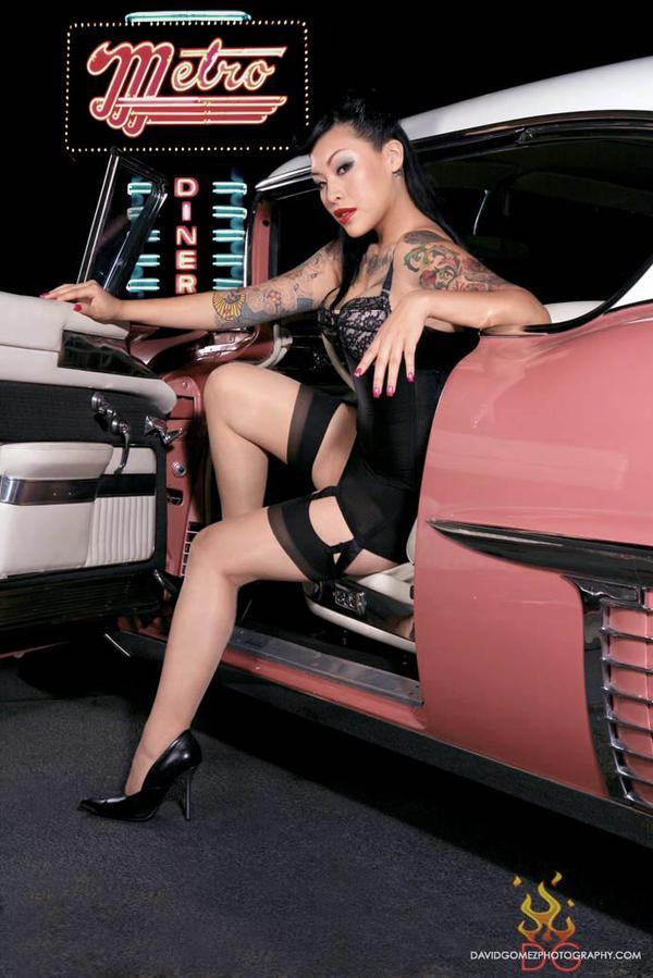 Sep 08, 2007 Model - Betty Lipstick Photographer - David Gomes MUA - Dawn Kelly