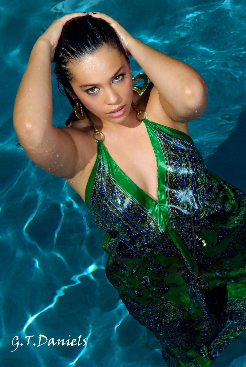 Female model photo shoot of GG- Tiera Gonzales by Gary Daniels