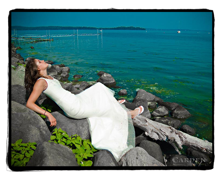 Lake Mendota, Madison, WI Sep 12, 2007 1007 Norris Carden Alex the bride