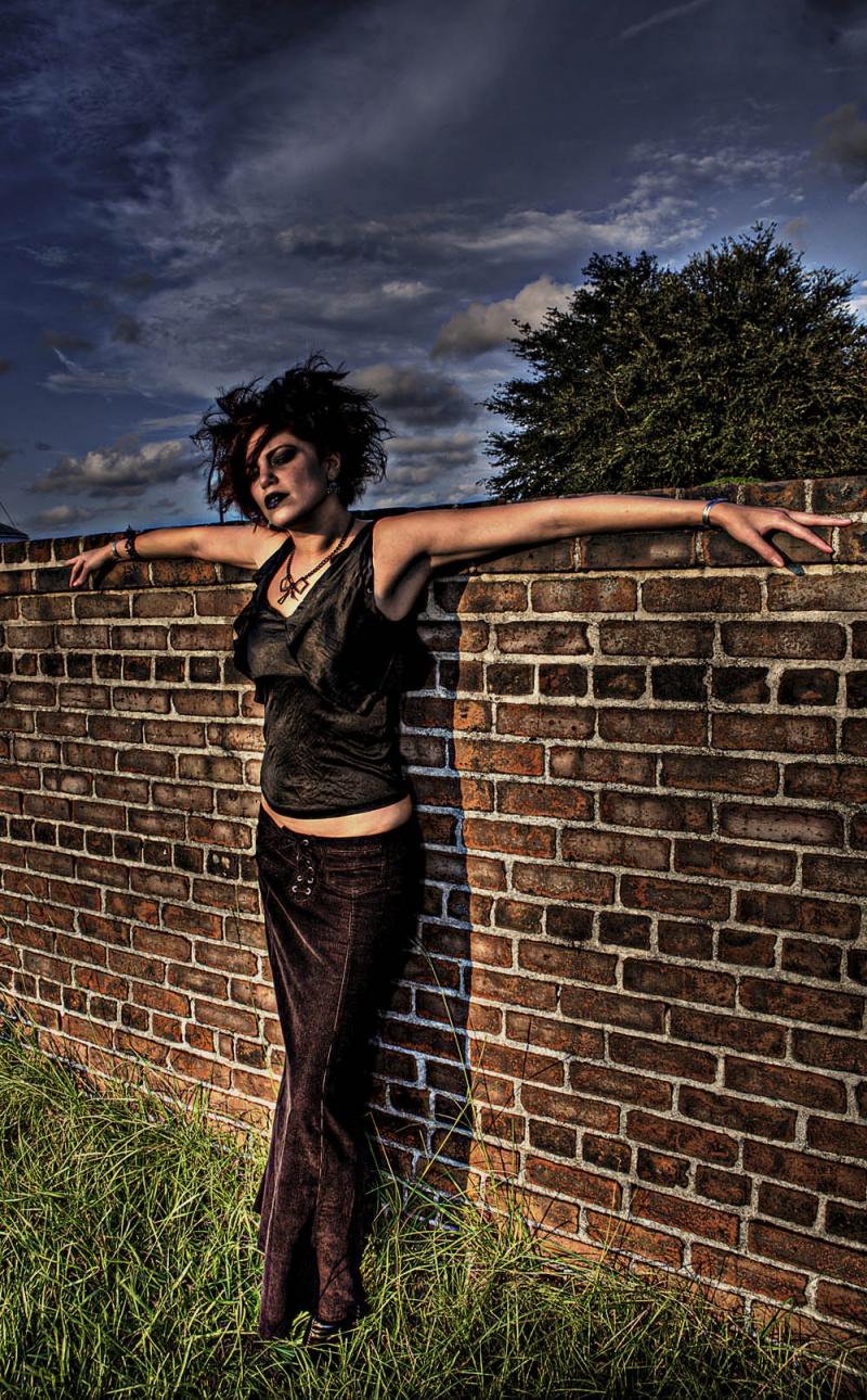 Female model photo shoot of redzy in charleston