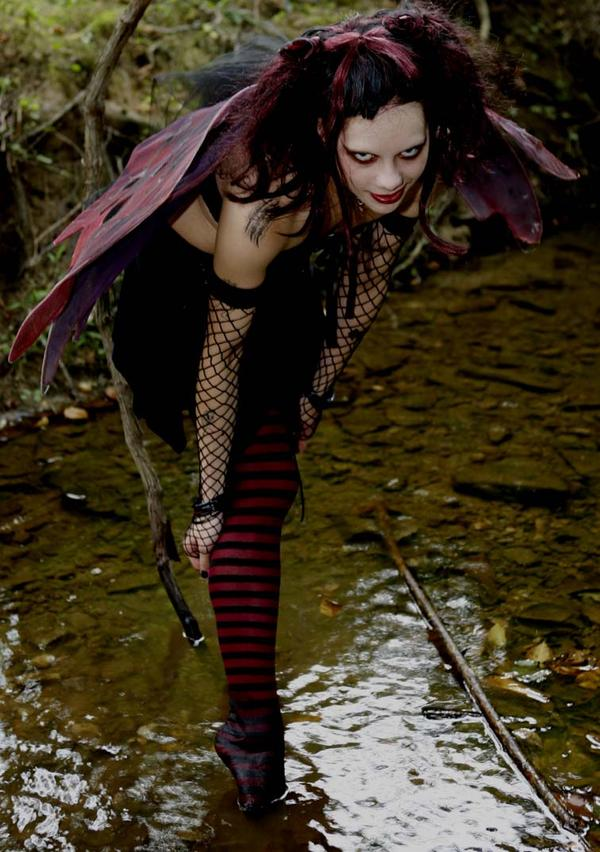 Female model photo shoot of randomly spaztik