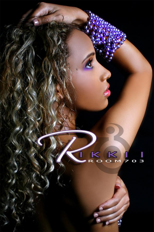 Female model photo shoot of rikkii by ROOM703, makeup by I AM TONI WHITE