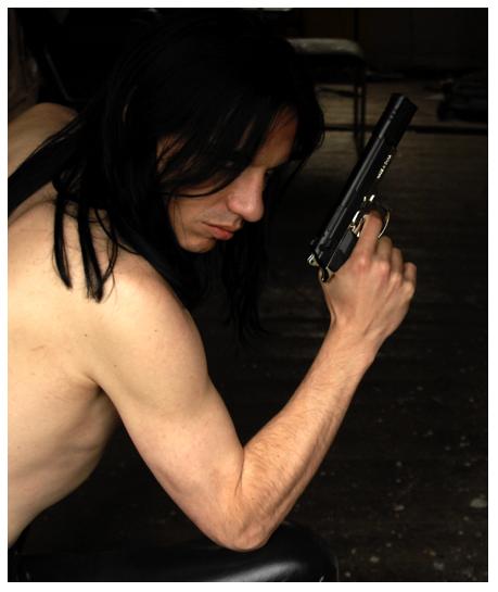 Male model photo shoot of Demondaz in Secret Location in Essex