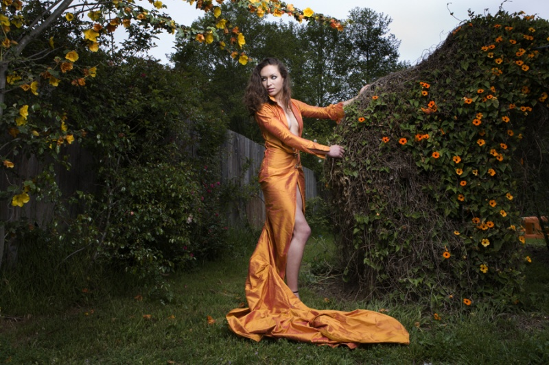Ca 2007 Sep 23, 2007 Beata Pevny Model: Leda; Dress by Ramon Acevez