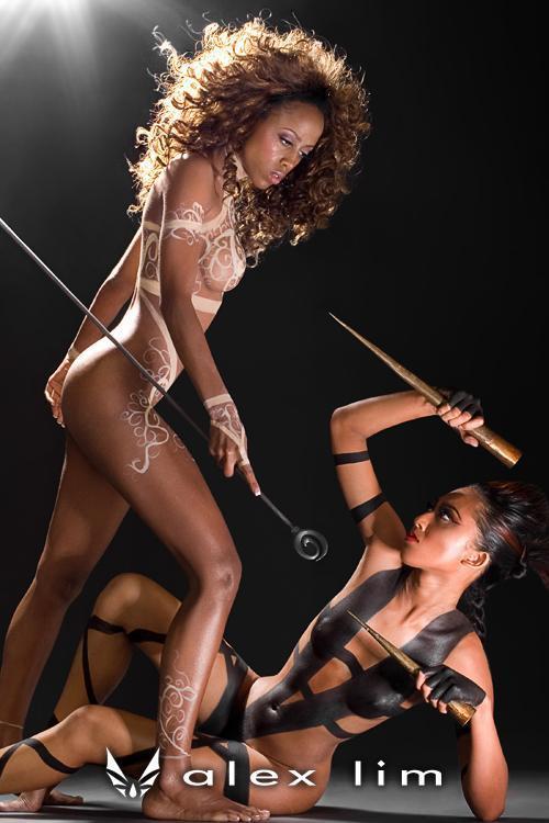 Sep 25, 2007 Bodypainting Photoshoot