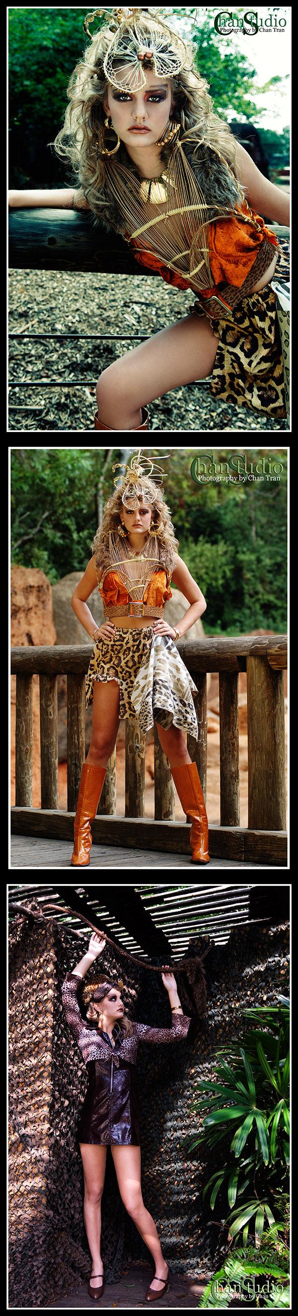 Atlanta zoo (Jungle for Jungle theme) Sep 25, 2007 ChanStudio Jungle Queen. (Agency represented, Click).