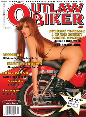 Mua & Wardrobe ~ Desiree Starr Enterprises Sep 25, 2007 George Snyder Outlaw Biker Magazine