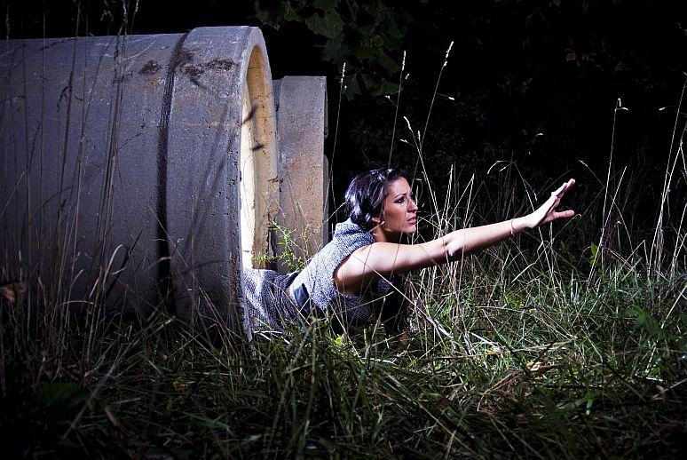 Female model photo shoot of Poca  in Mosquito Land
