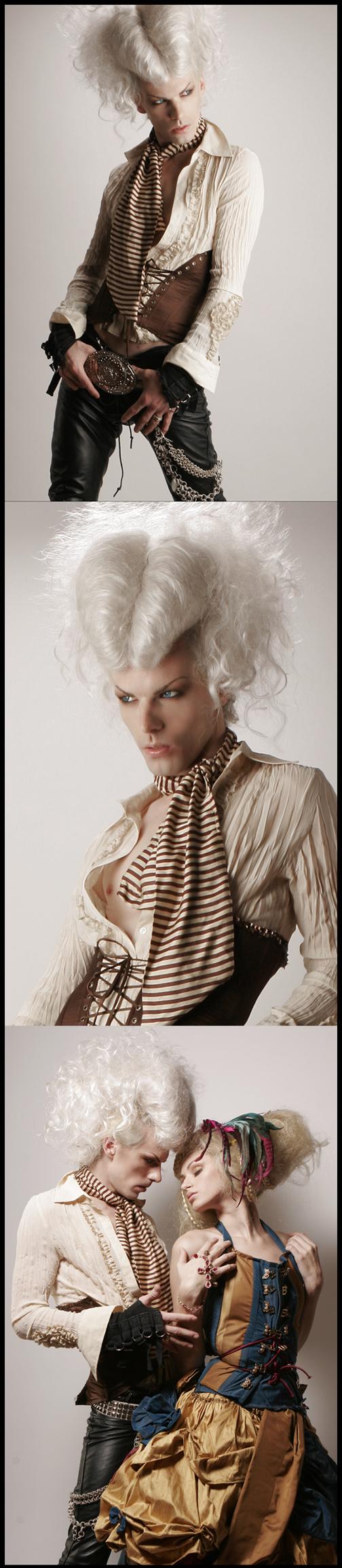 Sep 26, 2007 Mathew Cooke / Hair #185411 / Mua #269099 / Styling: Pegah Editorial Strip