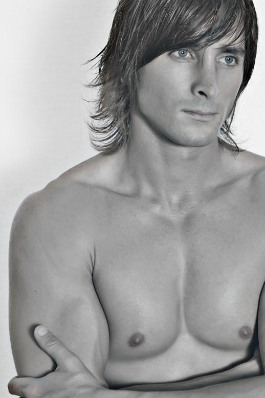 Male model photo shoot of J-Riv by Vonberg