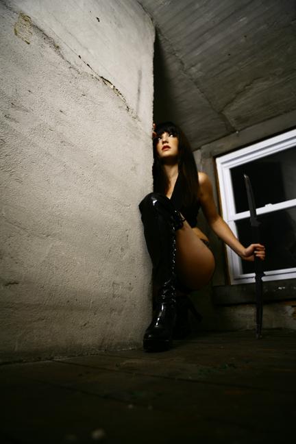 My studio Oct 01, 2007 Kalen Foley Assassin waiting...