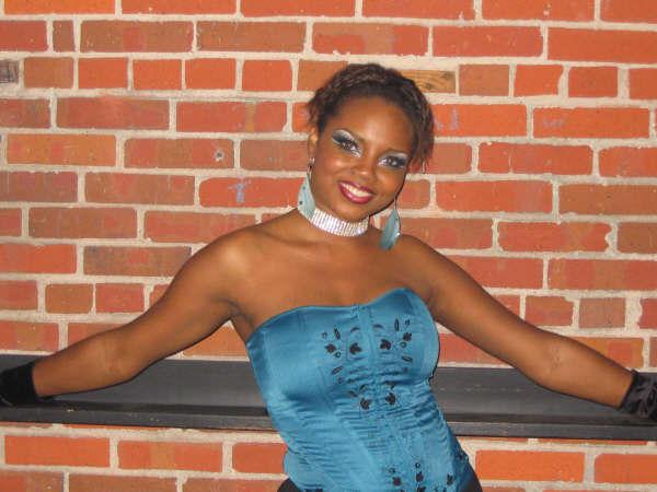 Female model photo shoot of Blu Rayne in Club Metro in Jax