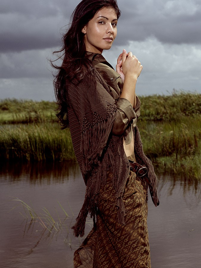 Everglades, FL  Oct 03, 2007 Christian Behr, MUA: Yaneth Gray in Ralph Lauren