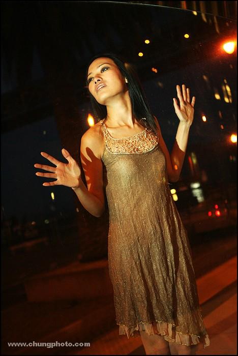 Female model photo shoot of YiYuan by ChungPhoto in San Francisco