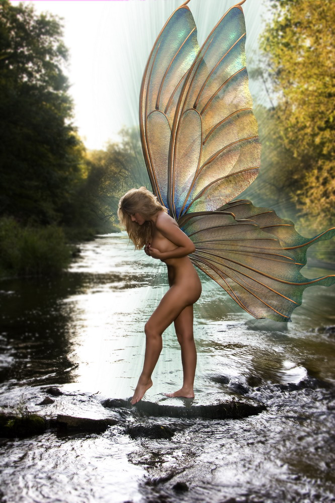 Oct 06, 2007 Robert Odegard Photography Water Fairy