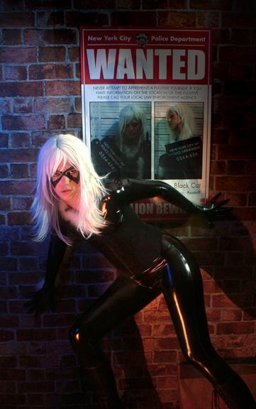 Oct 07, 2007 Photo © Gary Carbon, The Black Cat © Marvel Comics Group The Black Cat