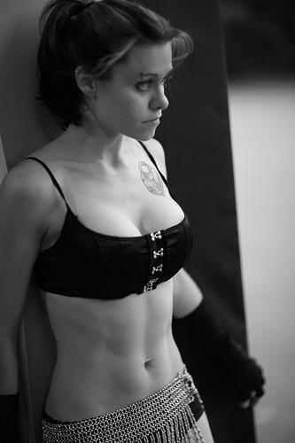 Female model photo shoot of Catherine K Foxx by Doug Sparks