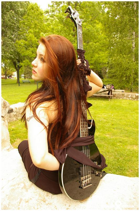 Female model photo shoot of Ravenlyght in Boucherville