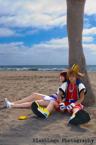 Destiny Island Oct 09, 2007 BlankLogo Photography Kingdom Hearts cosplayers