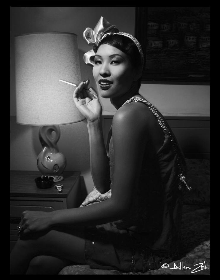 Female model photo shoot of Daniela Richardson by ZAKI Photographer in Hollywood, wardrobe styled by Pegah Sasani