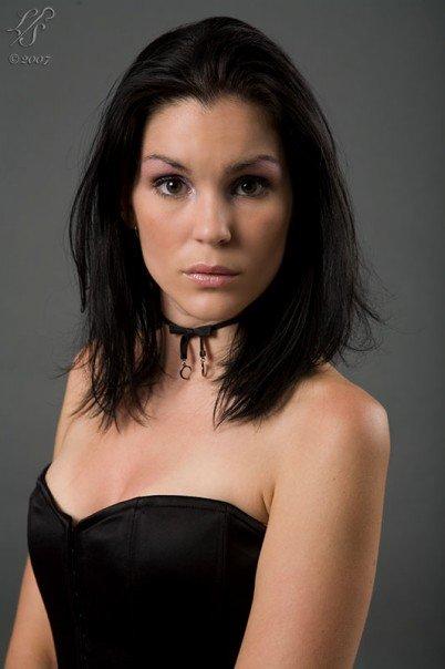 Female model photo shoot of alexis galore by Lone Shepherd