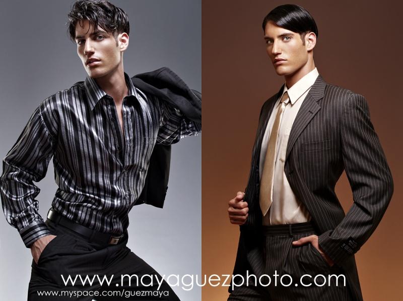 NYC Oct 11, 2007 (c) Maya Guez Man Fashion with Yaniv (Request agency)