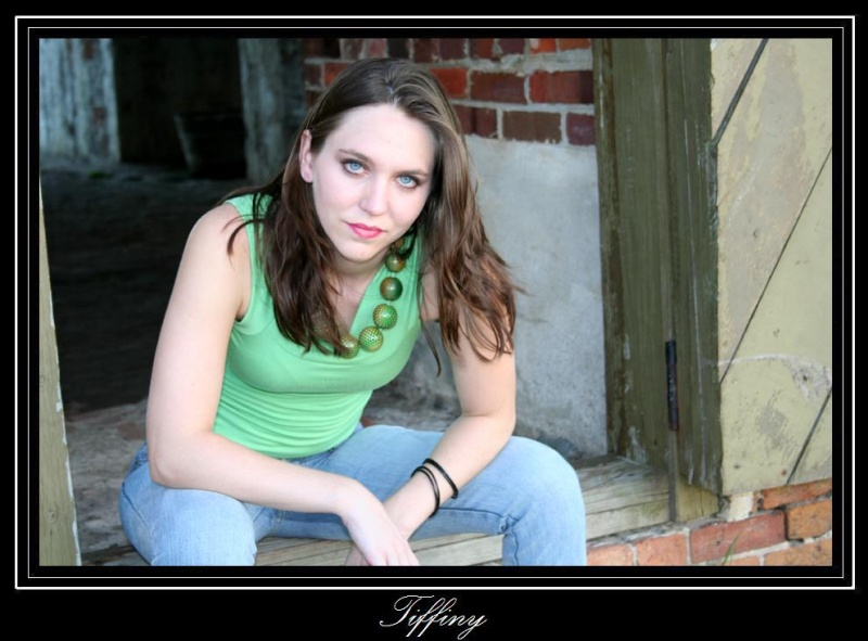 Female model photo shoot of Tiffiny by Angelic Expressions