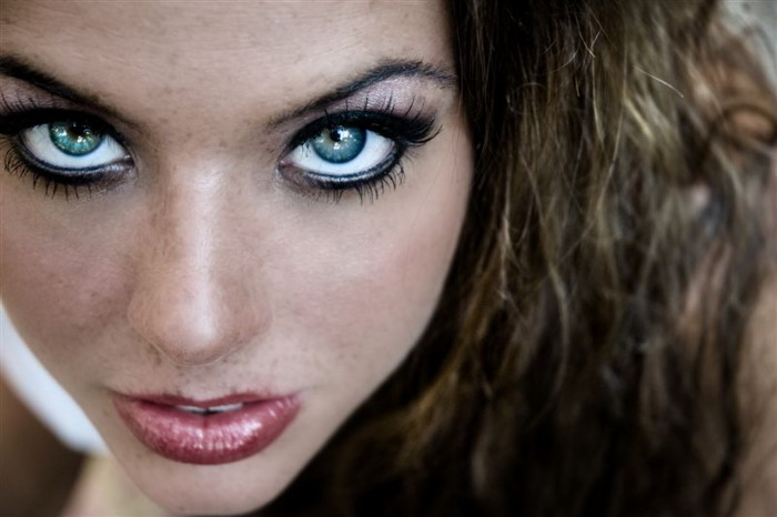 Oct 12, 2007 Brian Perkins / Hair, Makeup, Wardrobe done by myself Some Say the Eyes Are Windows to the Soul...